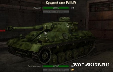 Шкурка для танка PzKpfw III/IV /01/ - Skin for the PzKpfw III/IV /01/