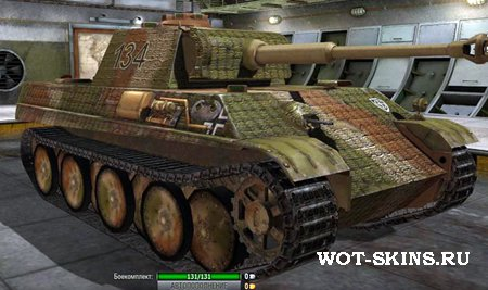 Шкурка для  PzKpfw V Panther /02/ - Skin for the PzKpfw V Panther /02/