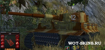 Шкурка для PzKpfw VI Tiger /01/ - Skin for the PzKpfw VI Tiger /01/