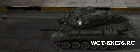 Скин для танка M46 Patton /06/ by 1000MHz