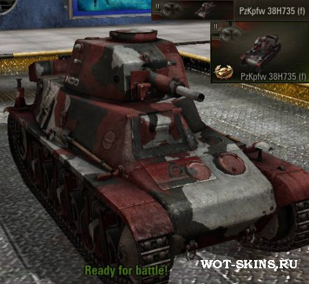 "PzKpfw 38H735 (f) /01/ Brotherhood of Nod ""C&C Tiberium Wars"""