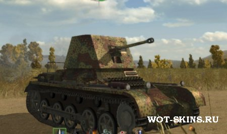 Panzerjager I /01/ скин для World Of Tanks