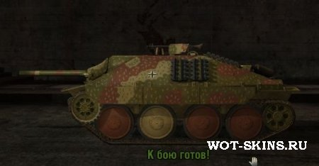 Hetzer /03/ world of tanks