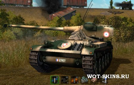 AMX 13 75 /03/ skins world of tanks
