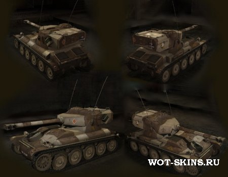AMX 12t /04/ Desert skin world of tanks