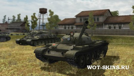 Т-62А /05/ by MLRS for WOT