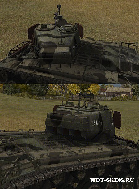 Шкурка на T26E4 SuperPershing /05/ by coldrabbit