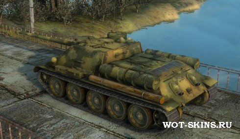 Шкурка на СУ-100 /07/ для World Of Tanks